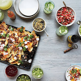 Nachos with All the Fixings.
