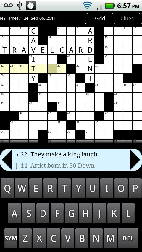 Crosswords Plus- screenshot