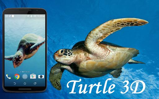 Turtle 3D Live Wallpaper