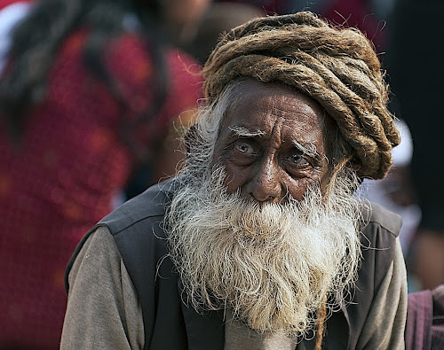 Pale blue eyes by Marco Parenti - People Portraits of Men ( india, people, man, portrait )