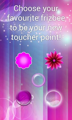 Pink Bubble Toucher Point