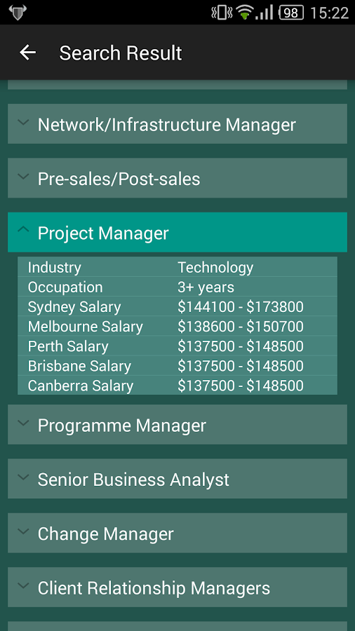 SCG Career Manager- screenshot