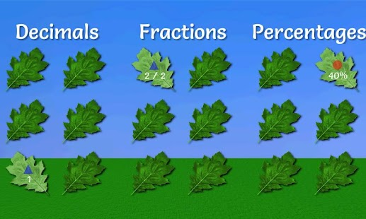 Math Game: Fractions Demo - screenshot thumbnail