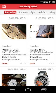Jomashop Deals screenshot 0