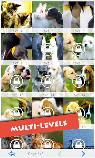 T-Puzzle: Animals in Love