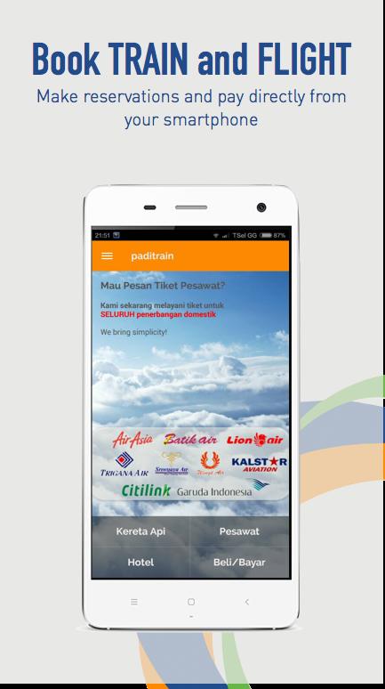 Train & Flight - PadiTrain - screenshot