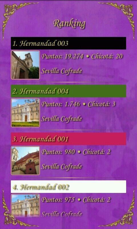 Juego Trivial Sevilla Cofrade- screenshot