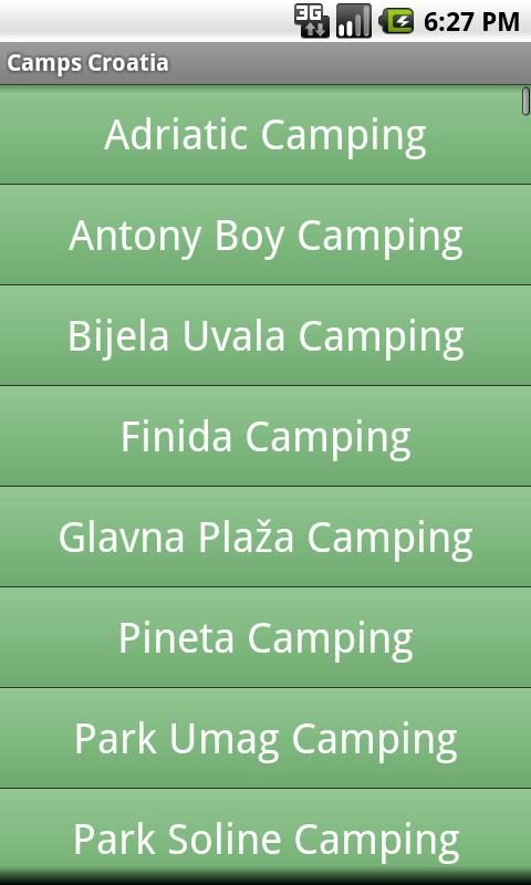 Camps Croatia - screenshot