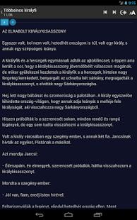 Benedek Elek mesék hangoskönyv - screenshot thumbnail