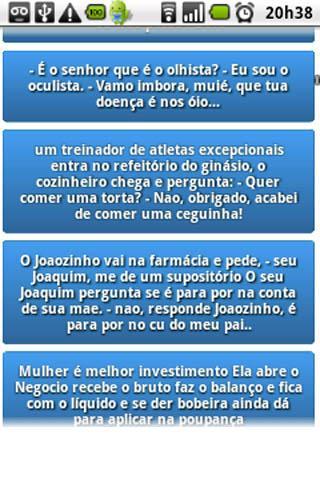 Droido - Piadas em Português- screenshot