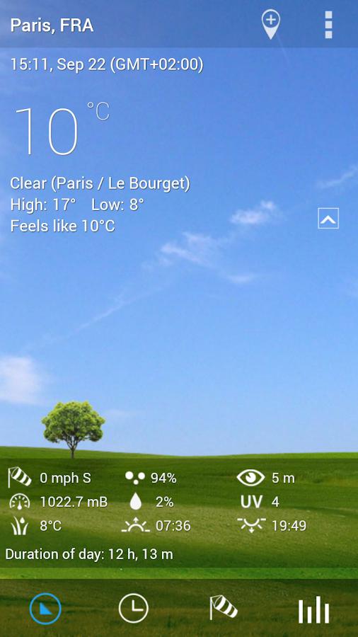 3D Flip Clock & World Weather - screenshot