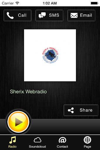 Sherix Webradio