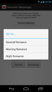Romantic Messenger - screenshot thumbnail