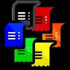 Receipt scanner - Num receipts icon