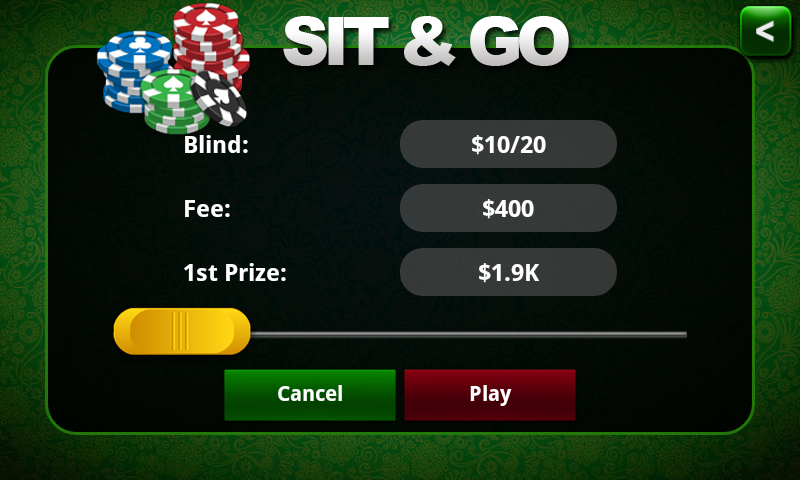 Poker KinG Green-Texas Holdem - screenshot