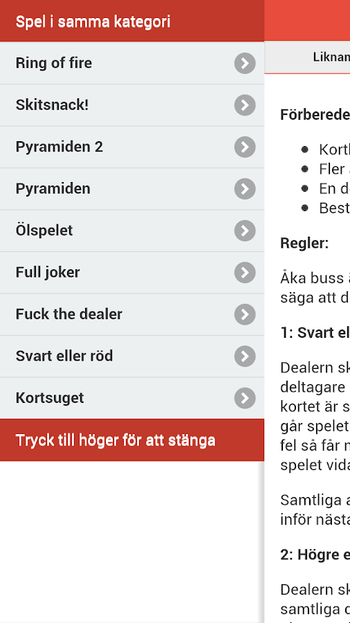 Bli full! - screenshot