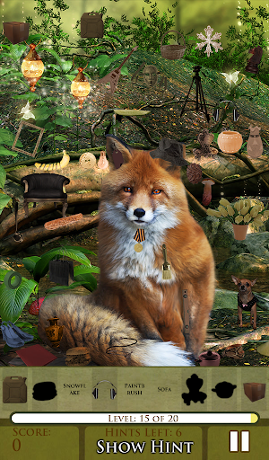 【免費休閒App】Hidden Object - The Fox Says-APP點子