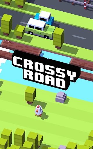 لعبة Crossy Road v1.0.1 [Mod Money] لجوالات الاندرويد