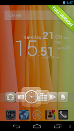 CircleLauncher light Screenshot 3