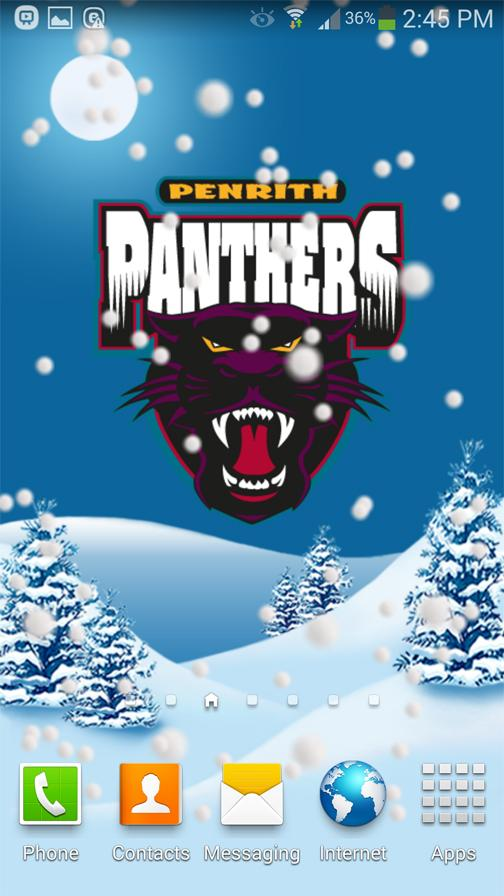 Penrith Panthers Snow Globe- screenshot