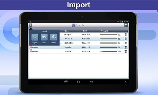 【免費商業App】Gantt Pro HD - Plan Reader-APP點子