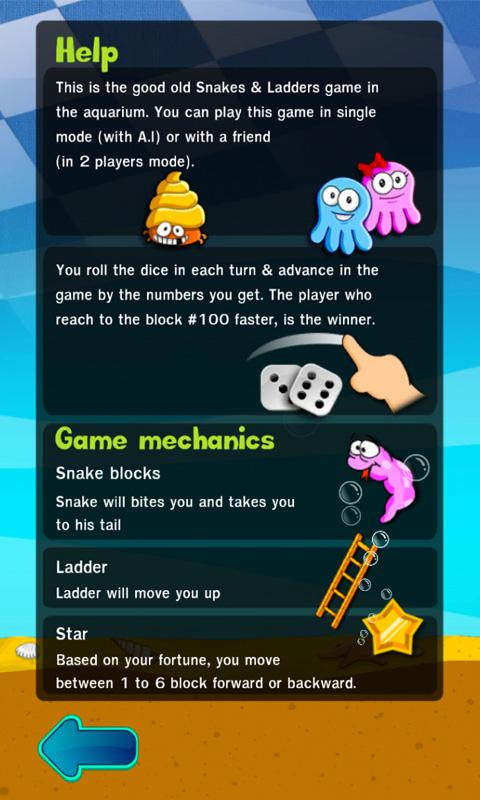 Snakes & Ladders Aquarium - screenshot