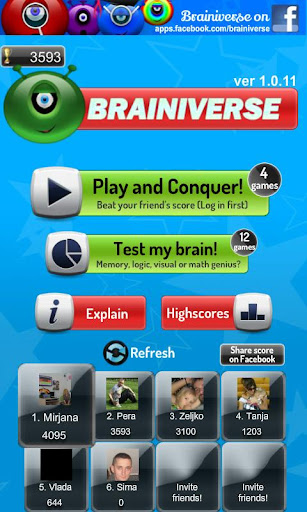 Brainiverse - Brain games