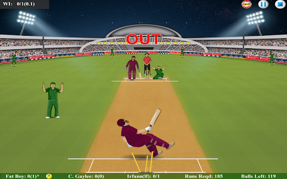 Fat Cricket Batsman apk screenshot