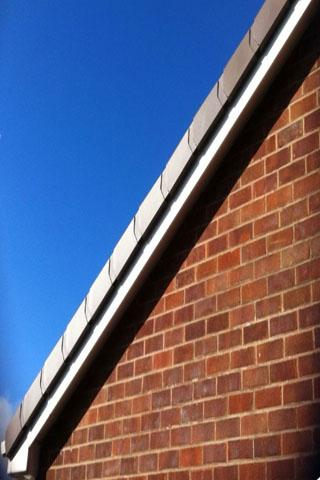 roofing guttering plastic tile - screenshot