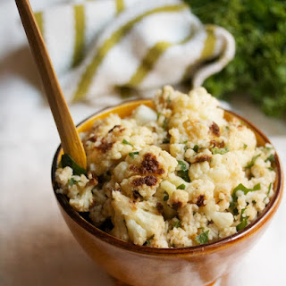 Bulgur and Cauliflower Salad