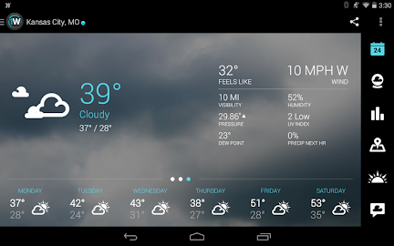 1Weather:Widget Forecast Radar Screenshot 5
