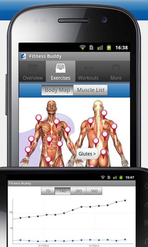 Fitness Buddy : 300+ Exercises - screenshot