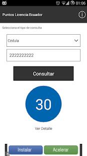 Puntos Licencia Ecuador - screenshot thumbnail