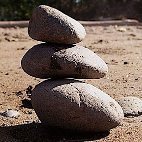 Point of Balance by Rich Havas - Nature Up Close Rock & Stone