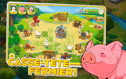 Jolly Days Farm: Time Management Game  captures d'écran 2