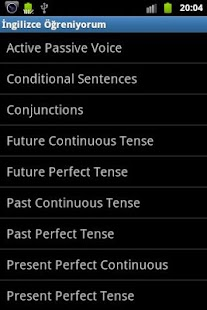 İngilizce Öğreniyorum - screenshot thumbnail