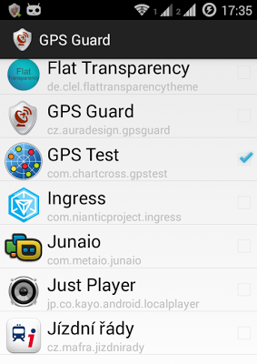 GPS Guard - screenshot