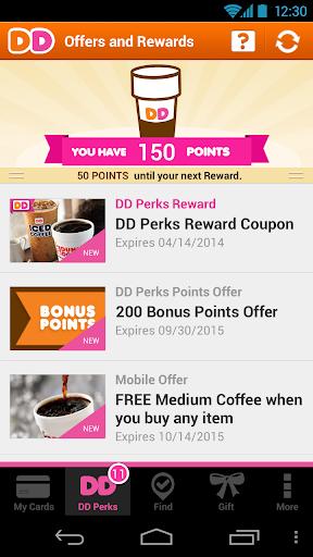 Dunkin' Donuts screenshot
