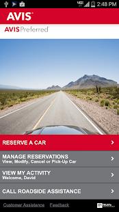 Avis Car Rental - screenshot thumbnail