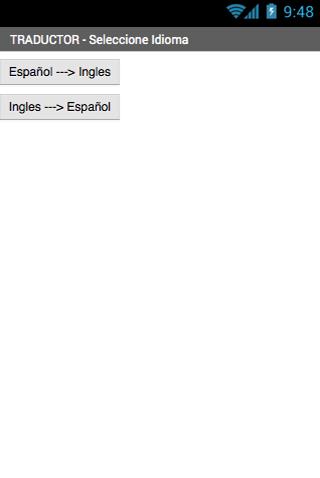 Traductor 1.0 screenshots 2