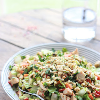 Chopped Thai Salad with Peanut-Chili Vinaigrette