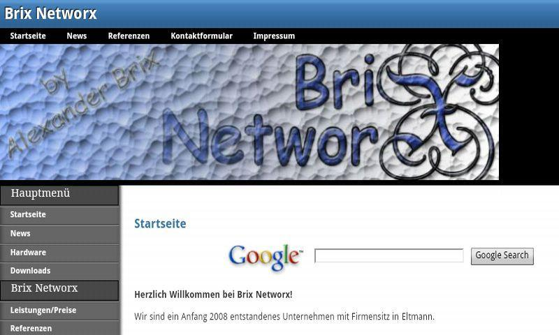Brix Networx - screenshot