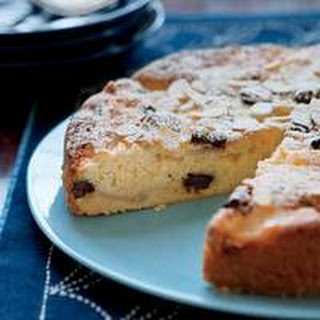 Pear-Almond Cake with Chocolate Chunks