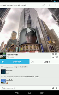 LoopLR Social Video - screenshot thumbnail