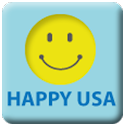 HAPPYUSA logo