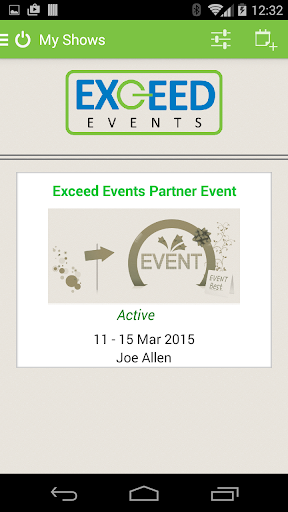 Exceed Events Mobile