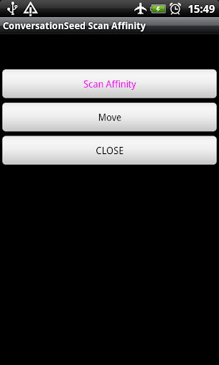 ConversationSeed Scan Affinity