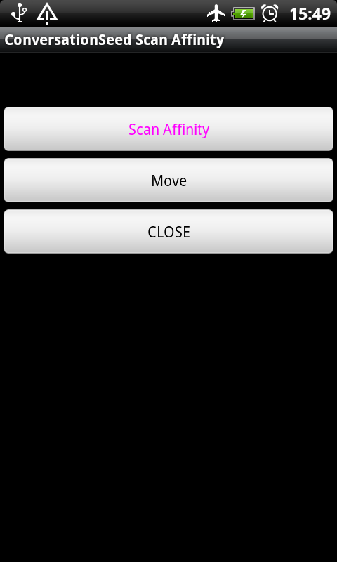 ConversationSeed Scan Affinity- screenshot