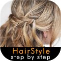Hairstyle Step By Step icon