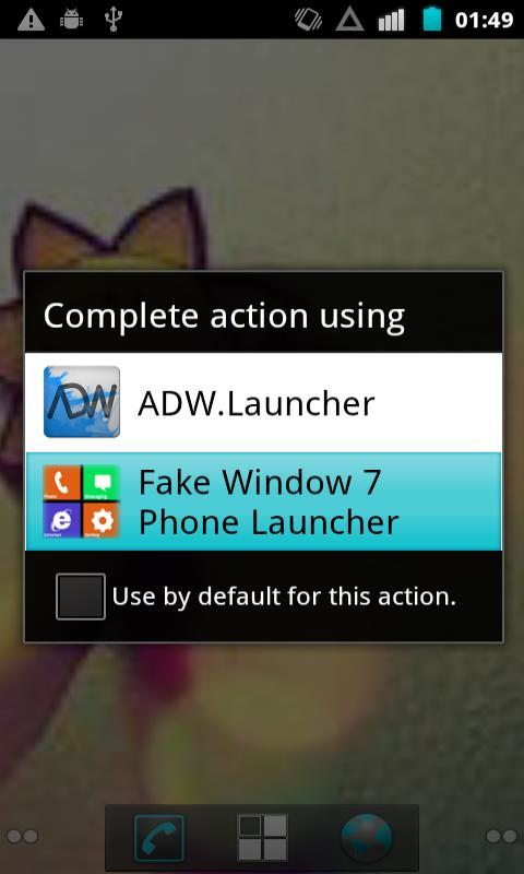 Fake Window 7 Launcher - screenshot